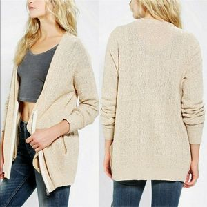 Silence + Noise | Knit Scoop Neck Cardigan Sweater